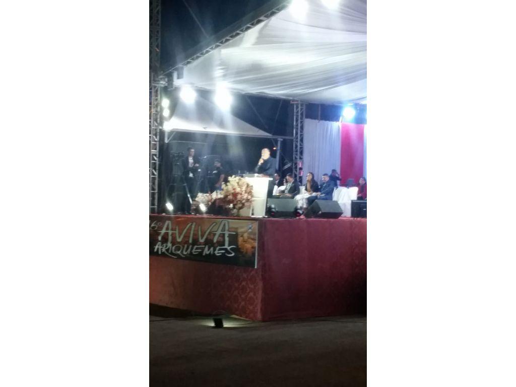 A 16º Aviva o evento Gospel de Ariquemes terminou com chave de ouro neste ultimo domingo