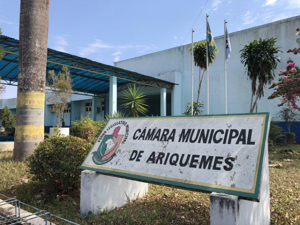 A CPI das águas de Ariquemes termina em pizza na última sessão da câmera de vereadores do município