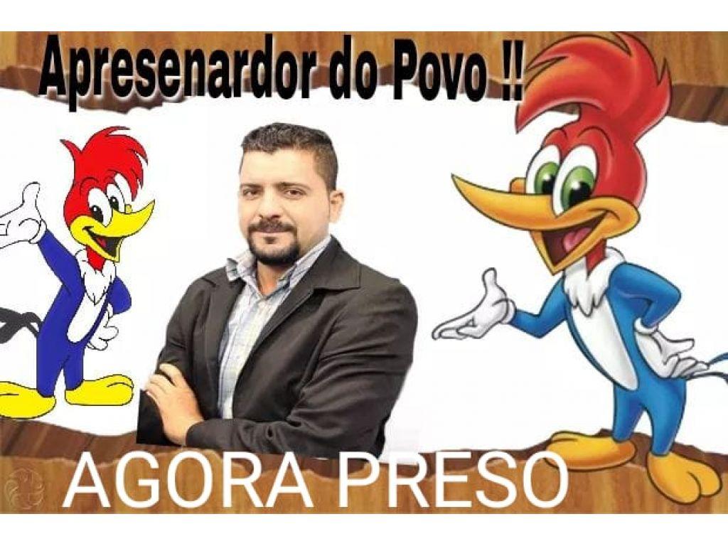 Ariquemes Urgente: o ex- apresentador da Rede TV de Ariquemes mais conhecido como  PICA PAU  foi preso