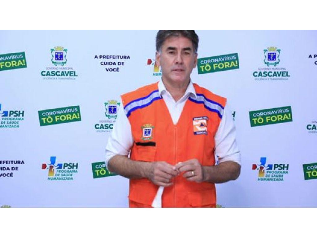 Pessoas com coronavírus em Cascavel receberão pulseiras, além do toque de recolher e bloqueio de rodovias