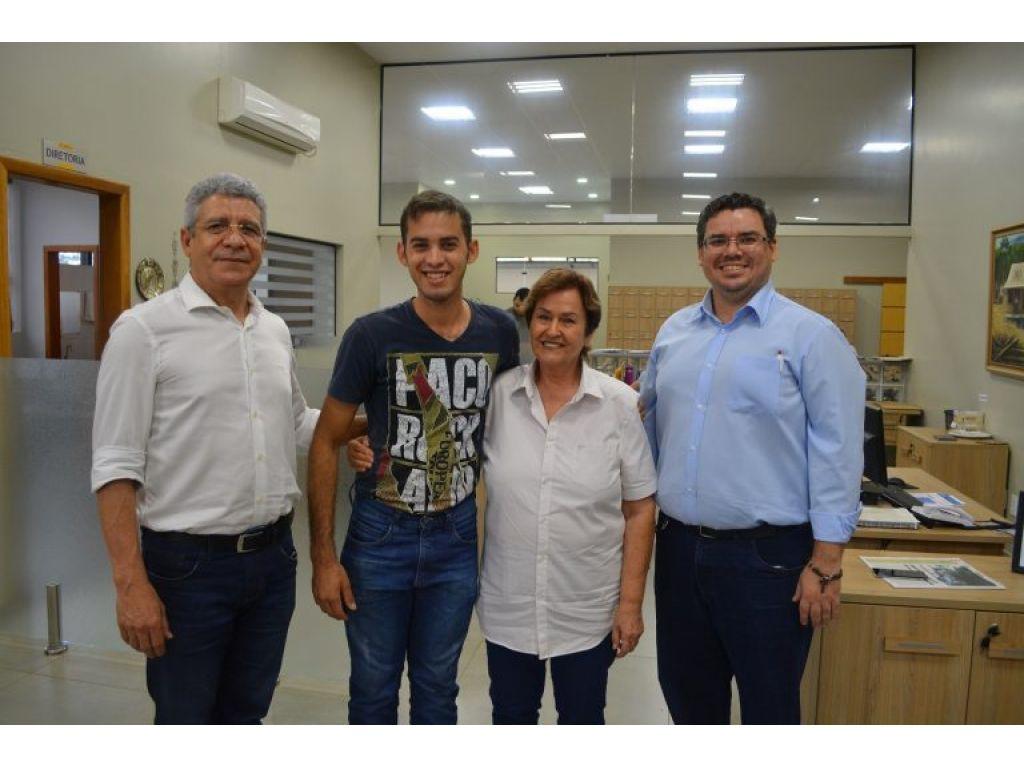 André Silva ganha Bolsa integral da UNESC