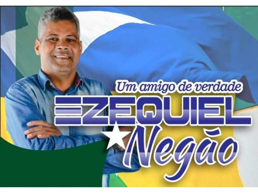 Ezequiel Ferreira da Silva, o NEGÃO agora é pré-candidato a vereador de Ariquemes