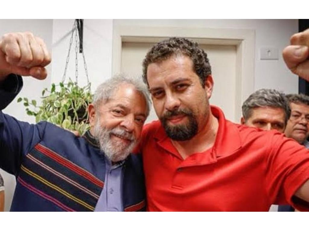 SERÁ QUE VENCE? Lula apoia Boulos em disputa pelo segundo turno da capital paulista
