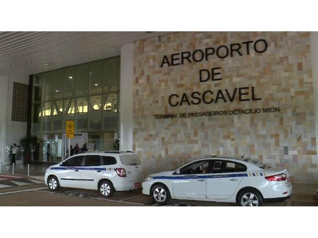 Hoje reinauguração do Aeroporto de Cascavel agora com pouso de aeronaves de grande porte