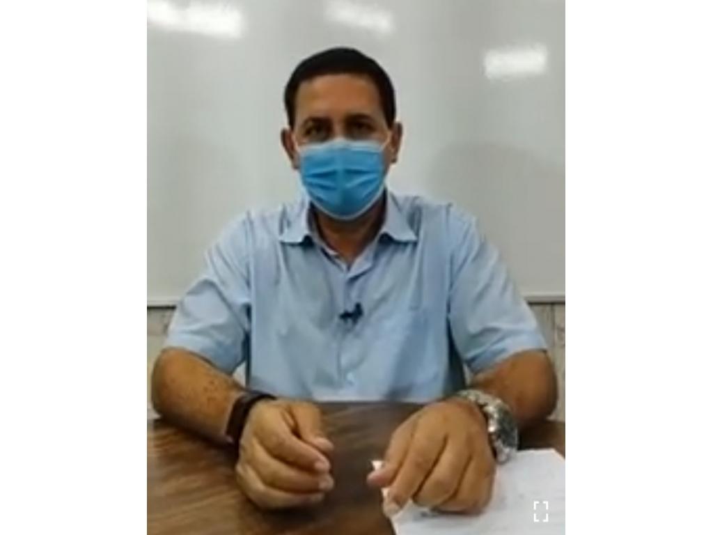NERVOSINHO: Aldo Júlio prefeito de Rolim faz live nessa segunda feira e revolta com a cobrança da população nas rede sociais