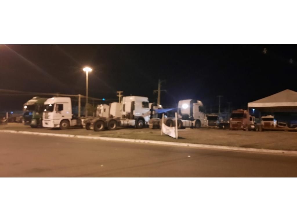 ATENÇÃO: Os caminhoneiros do Brasil segue sua paralisação pela democracia e no estado de Rondônia não é diferente