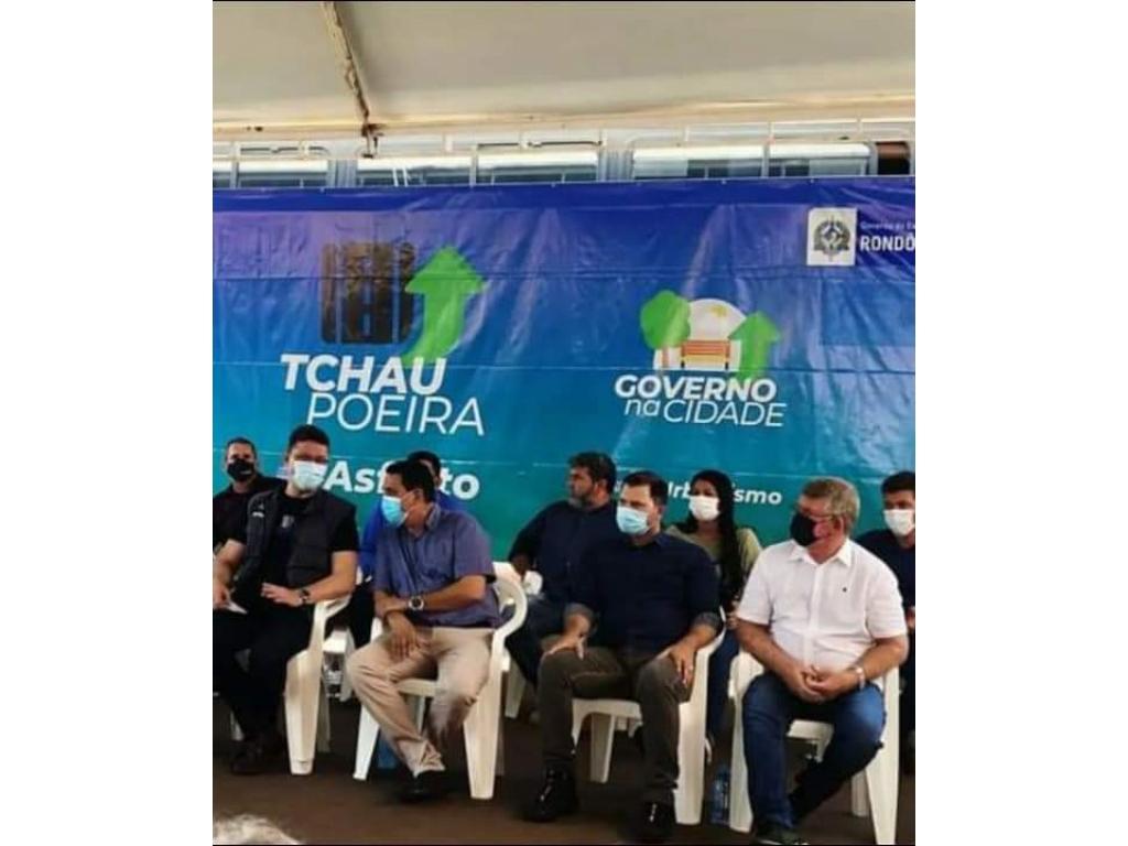 ATENÇÃO: O circo foi montado em Rolim de Moura para fazer politicagem com á história de tchal Poeira